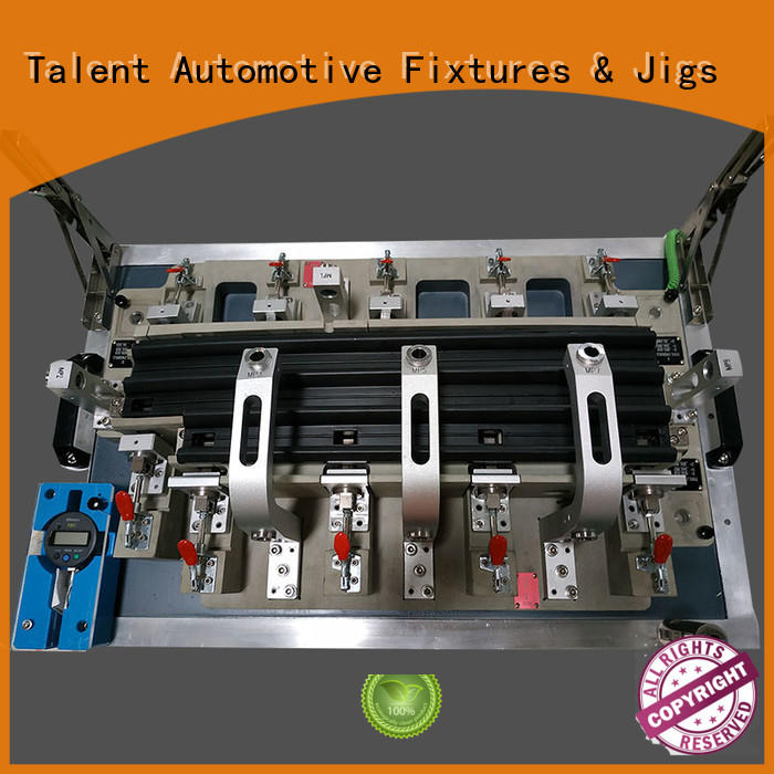 inspection fixture components parts grid front Talent Brand company