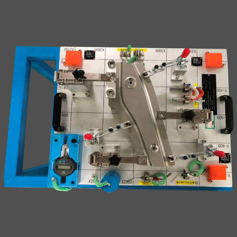 Automotive checking fixture front /rear floor part