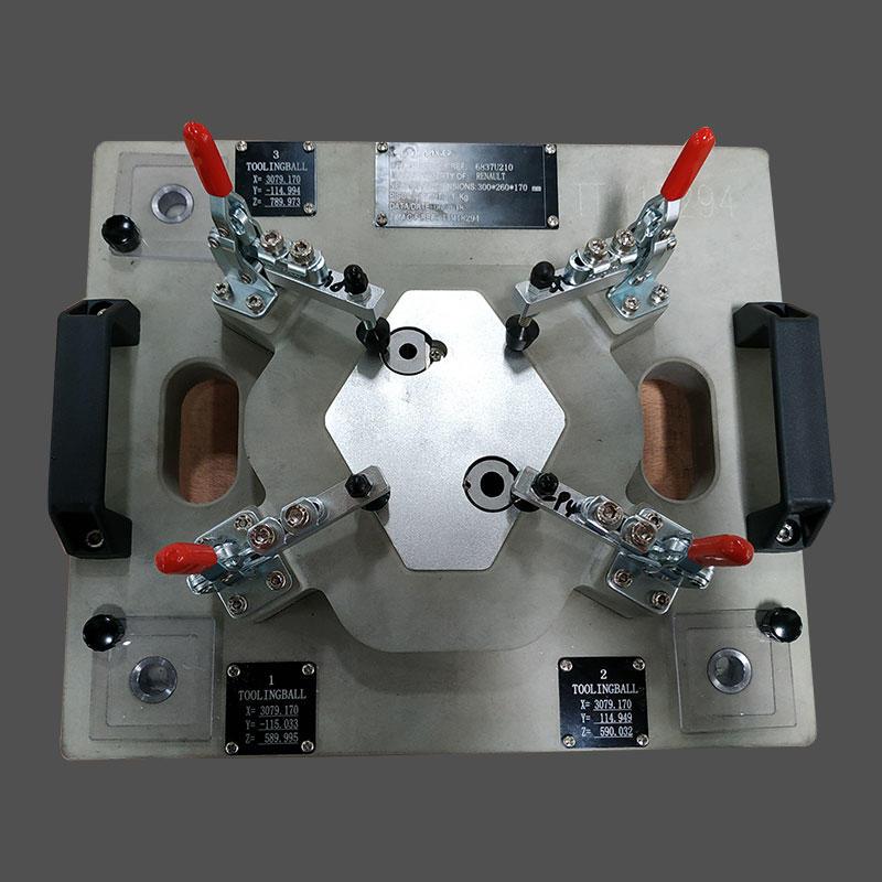 Automotive logo Plastic parts checking fixture