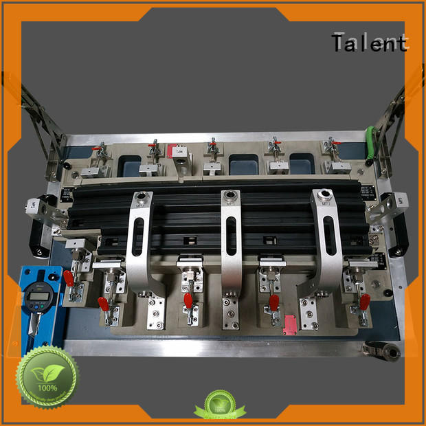 Talent anodized drilling fixture front for plastic parts