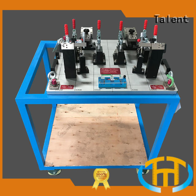 Talent small cmm fixture plate car for inspect