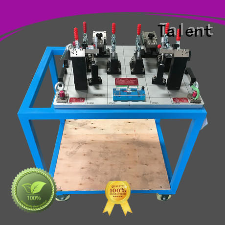 Talent cross checking fixtures for plastic parts customized for industry