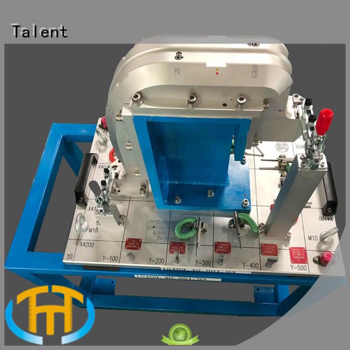 Talent Brand pillar front inspection fixture components