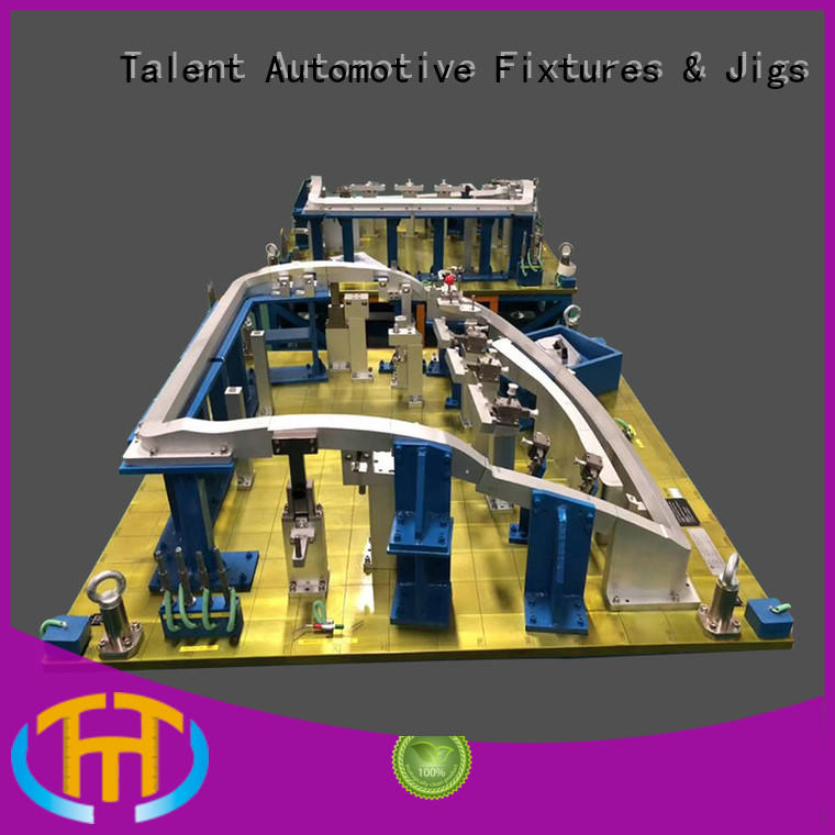 Talent beam av gauge and fixture customized for floor panel