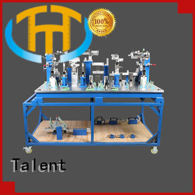 Talent small assembly fixture customized for workshop