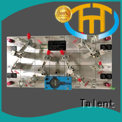 plastic checking fixture components logo for industry Talent