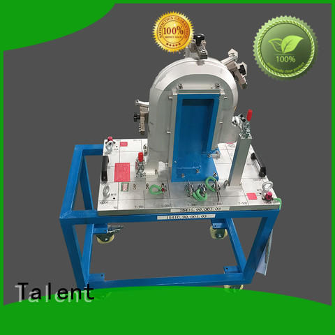 Talent small prominent fixture and gauge factory for floor panel