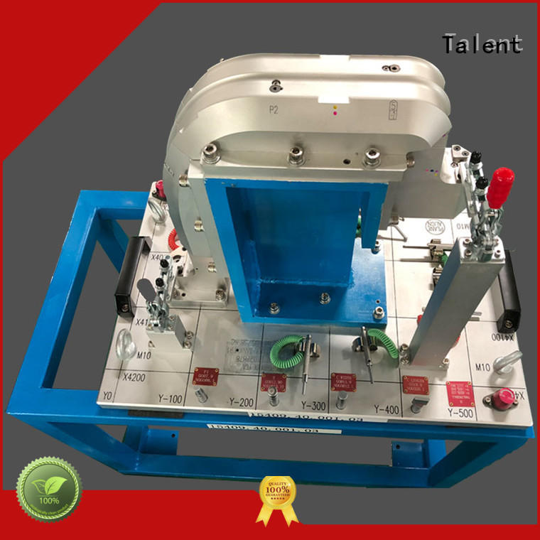 Talent holding metrology fixtures customized for industry