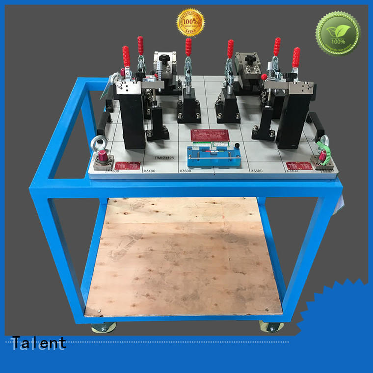Talent cover tooling fixture components factory for workshop