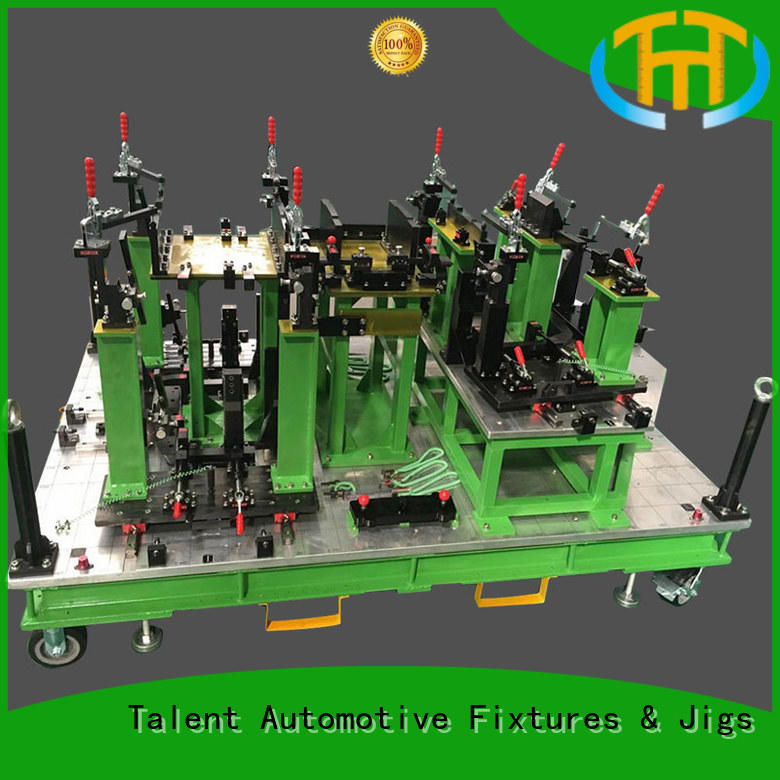 green color checking Talent Brand jig fixture