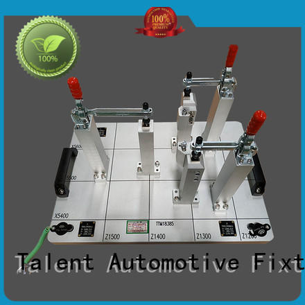Talent Brand single rear inspection fixture components