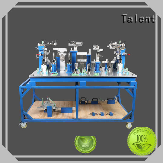 Talent rear prominent fixture and gauge assy for floor panel
