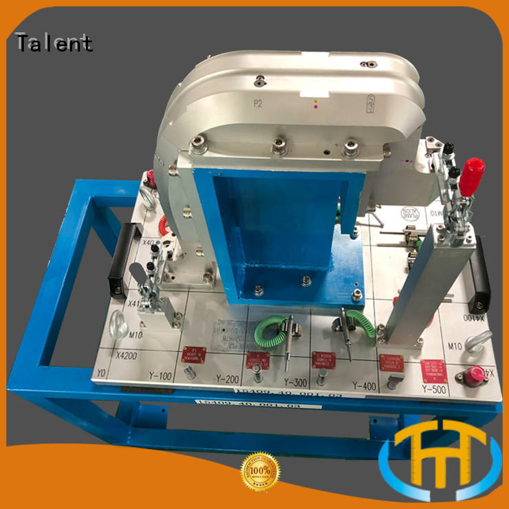 pillar holding fixture factory for industry