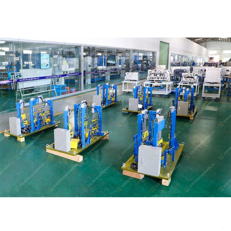 Automotive Arc Welding fixture WLCrossMember/WSSpringLink