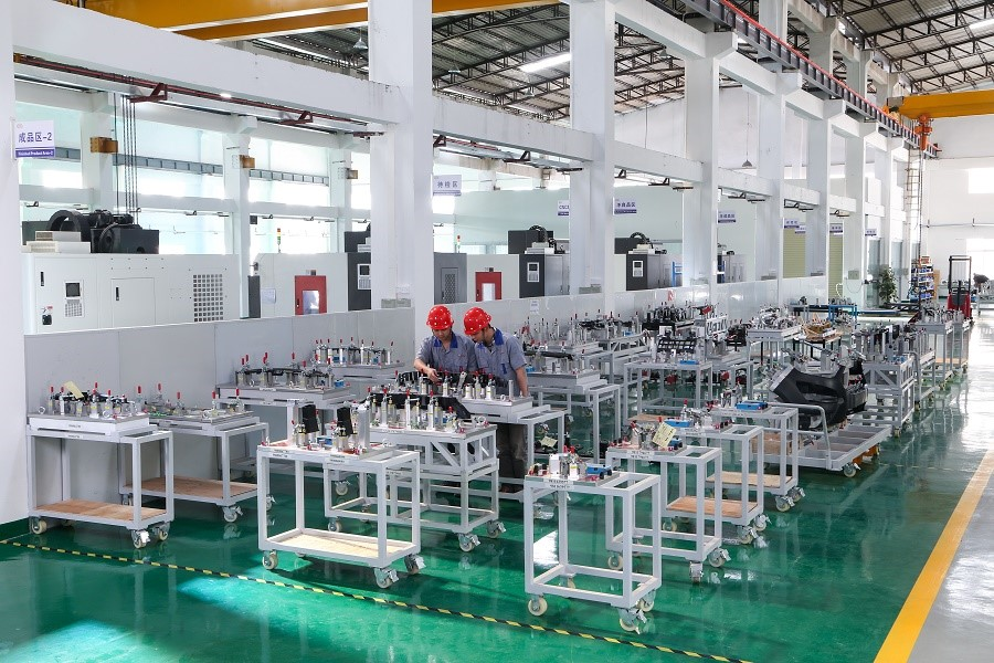 Talent grid checking fixture components factory for plastic parts-8