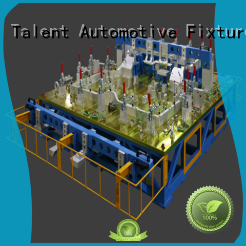 Talent checking fixture for auto parts