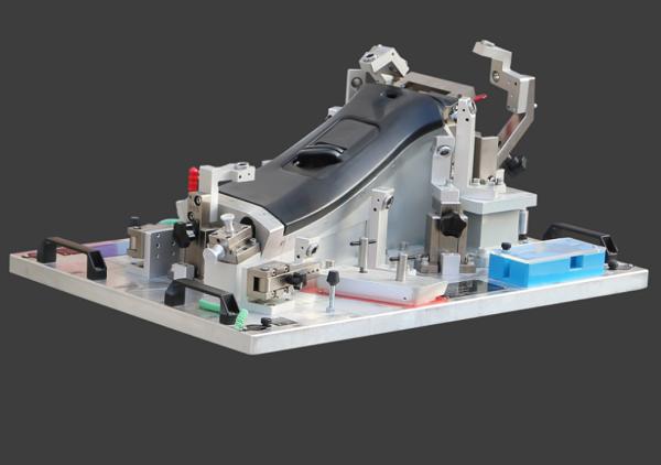 Automotive plastic part assembly checking fixtures