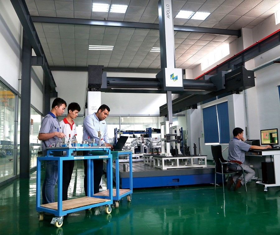 Talent grid checking fixture components factory for plastic parts-7