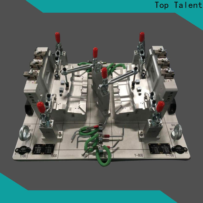 Top Talent check gages foreign trade for car