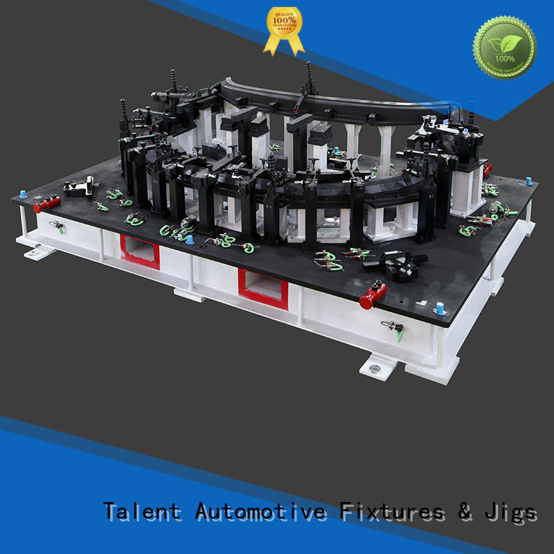 automotive checking fixture components strap factory for floor panel