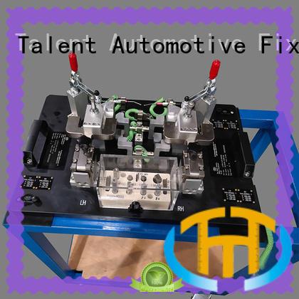 Talent aluminum drilling fixture customized for workshop