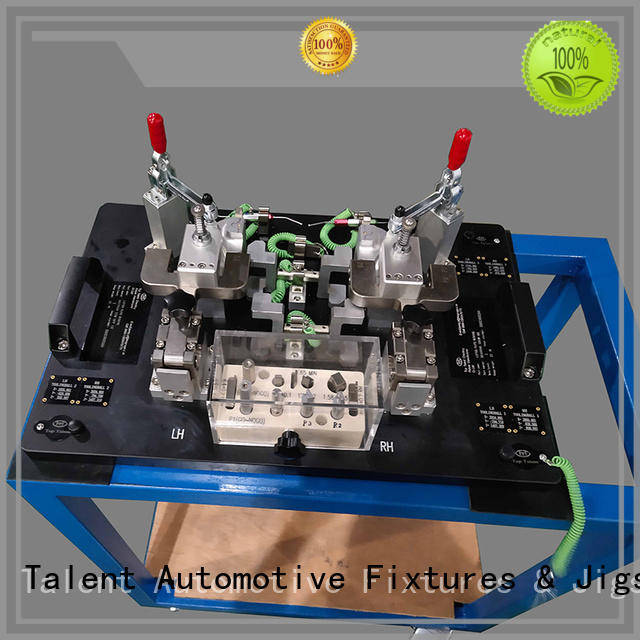 stamping body in white automotive grid factory for examine