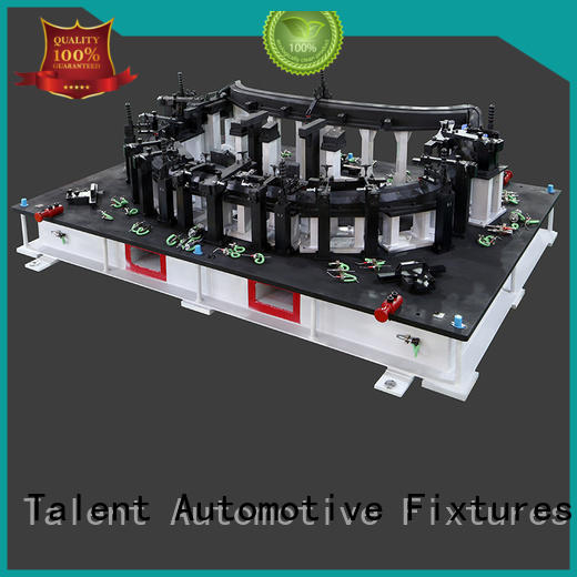 Talent single checking fixtures for plastic parts part for floor panel